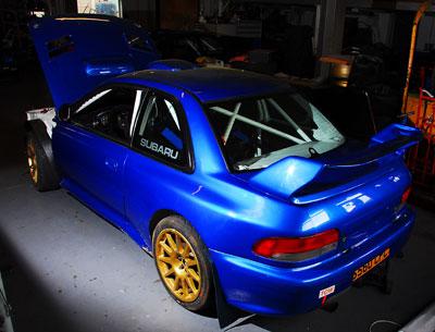 Subaru WRC Motorsport Parts
